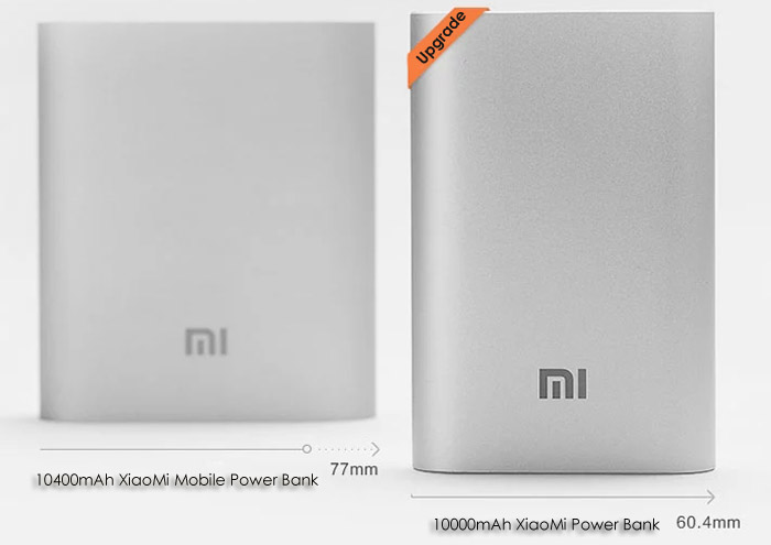 Origine Xiaomi Pocket 10000mAh mobile Power Bank High Capacity Portable Chargeur
