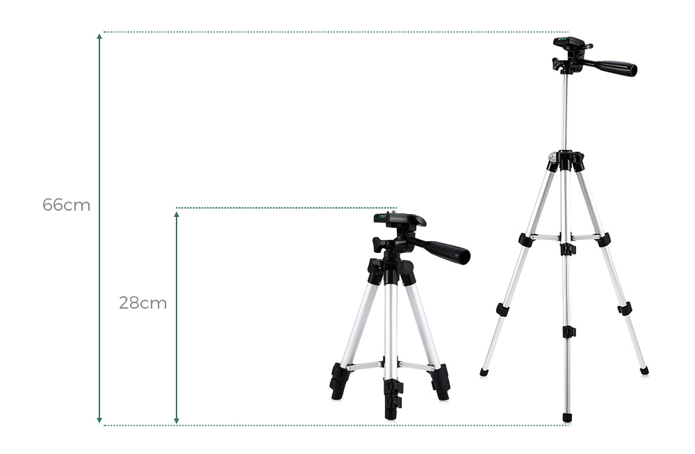 HM330A Portable Camera Tripod Built-in Water Level-8.11