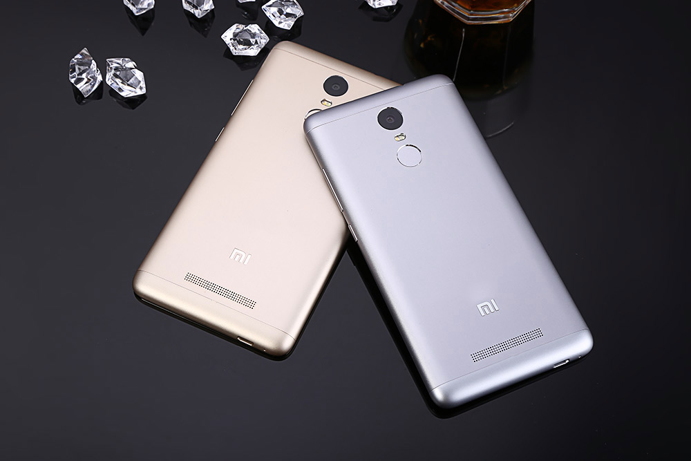Xiaomi Redmi Note 3 Pro 5.5 inch 4G Phablet Android 6.0 Quadcomm Snapdragon 650 64bit Hexa Core 1.8GHz 3GB RAM 32GB ROM 16.0MP Rear Camera Fingerprint Scanner
