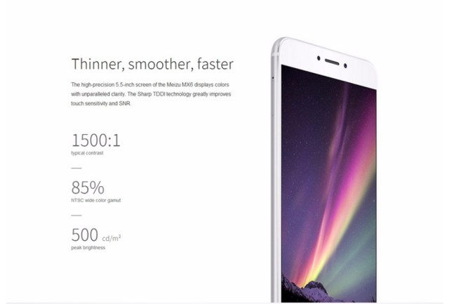 Meizu MX6 Android 6.0 5.5 inch 4G Phablet Helio X20 2.3GHz Deca Core 4GB RAM 32GB ROM MTouch 12MP Rear Camera Bluetooth 4.1