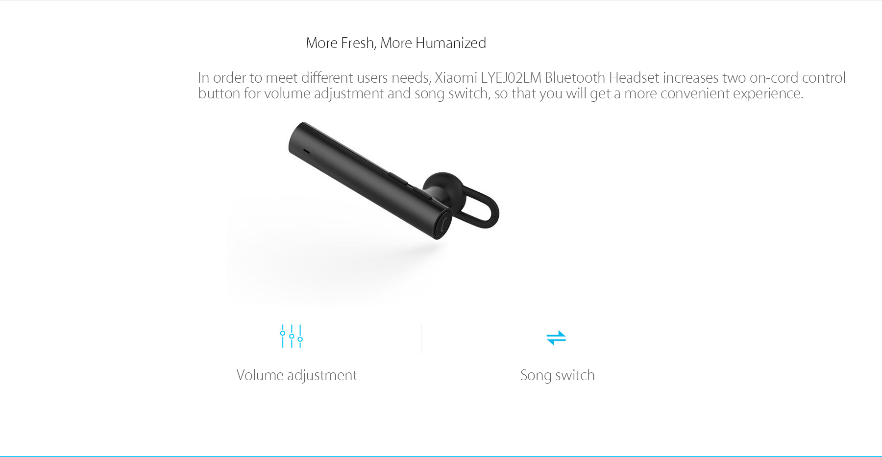Xiaomi Mi Lite Bluetooth Headset