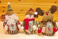 Red/green Reindeer Design Indoor Christmas Standing ...