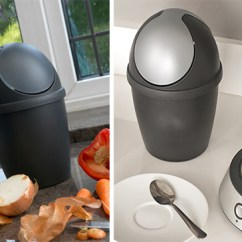 Space Saving Kitchen Couch Store | Tea Bag & Compost Mini Bin