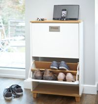 STORE | Merton Shoe Storage Cabinet - 2 Drawer