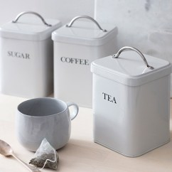 Canisters Kitchen Best Inexpensive Faucet Store Vintage Tea Coffee Sugar Storage For The In Cream