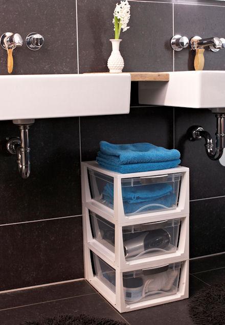 STORE Stacking Bathroom Storage Drawer