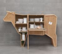 STORE | Packing Crate Cow Sideboard