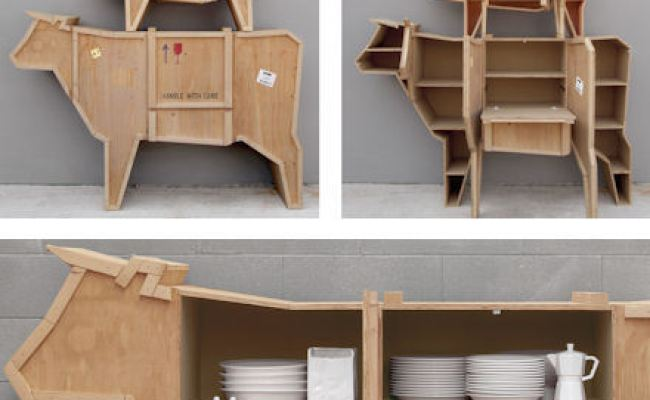 Packing Crate Cow Sideboard Seletti Living Room
