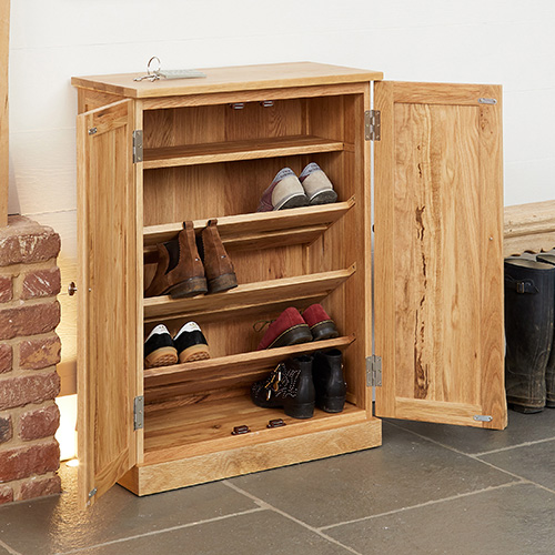 kitchen cupboard gadgets basket storage store | solid oak shoe - mobel