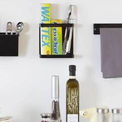 Kitchen Cupboard Gadgets Range Store   Magnetic Cling-film & Foil Holder