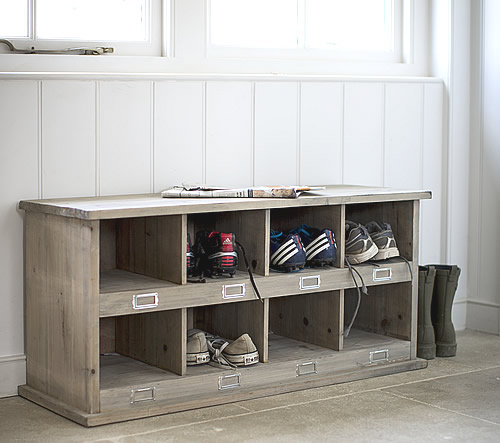 Shoe Cabinet Bench