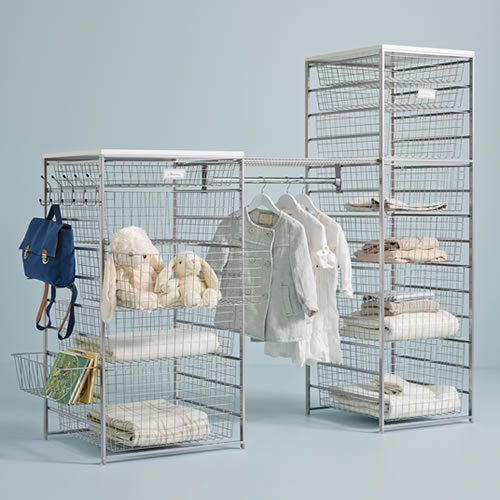 STORE  Elfa Basket Tower  Best Selling Solution