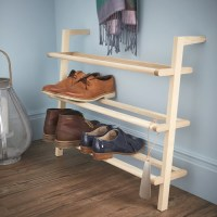 STORE | Wooden Ladder Shoe Rack - Wide