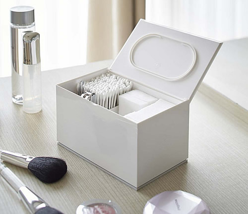 living room toy box decorative ideas for small store | cotton pad and bud lidded storage