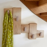 STORE | Handmade Under Stairs Solid Oak Coat Rack