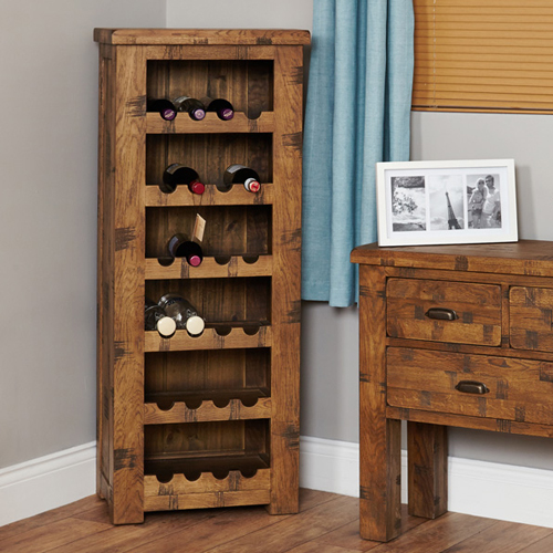 can you put a wine rack in living room floor designs store oak tallboy heyford rough sawn 289 00