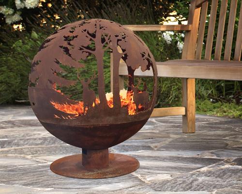 STORE  Globe Fire Pit