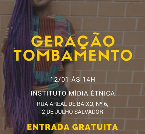 GERAÇÃO TOMBAMENTO FLYER