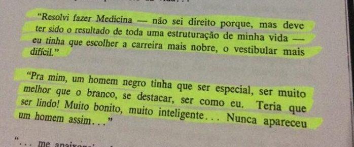 """Trecho do livro """"Torna-se Negro"""", de Neusa Santos Souza"""