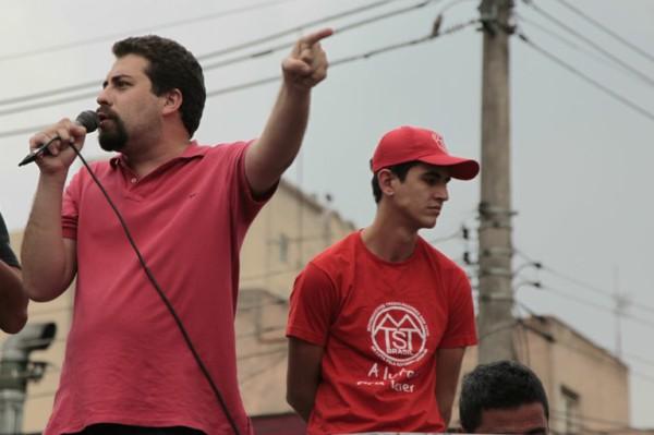 Guilherme Boulos lider do MTST