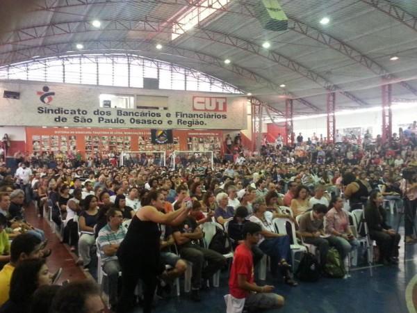 Plenario em São Paulo