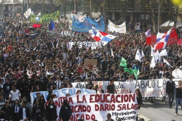 Chile marcha 16
