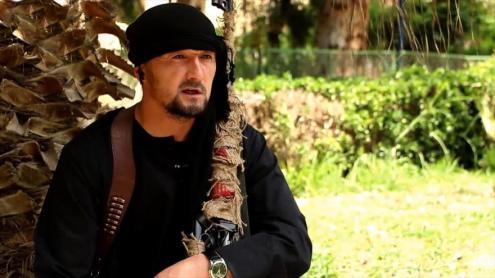 Khalimov, ex-comandante da polícia do Tajiquistão e nomeado coronel pelo Estado Islâmico.