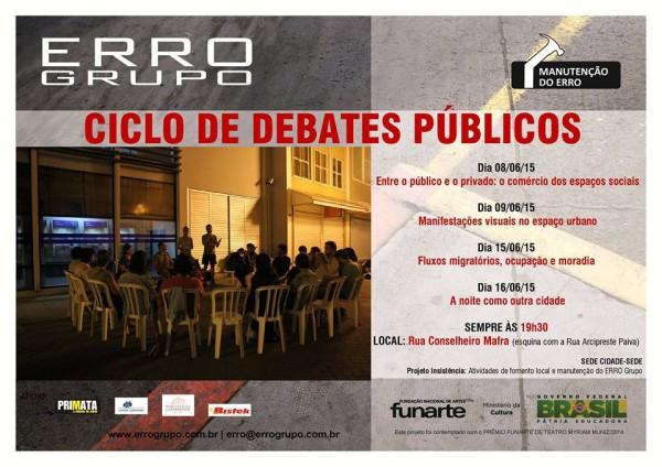 debates públicos