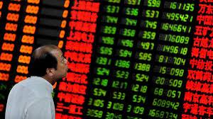 Pánico nas bolsas de valores em China