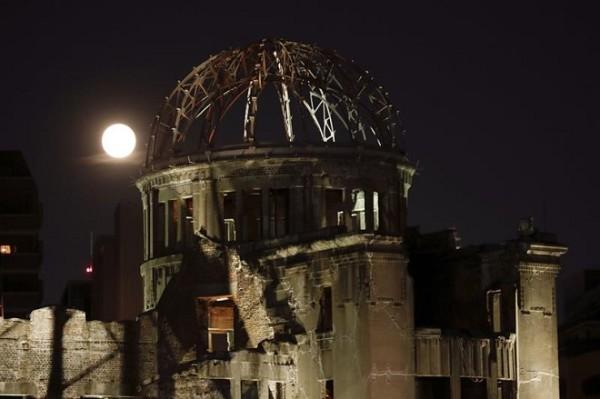 Cúpula da bomba atômica é símbolo da devastação de Hiroshima