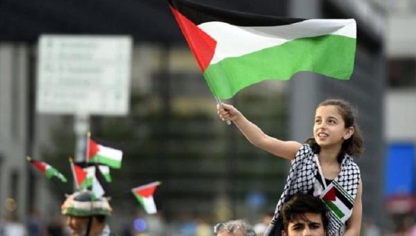 bandera palestina Reuters