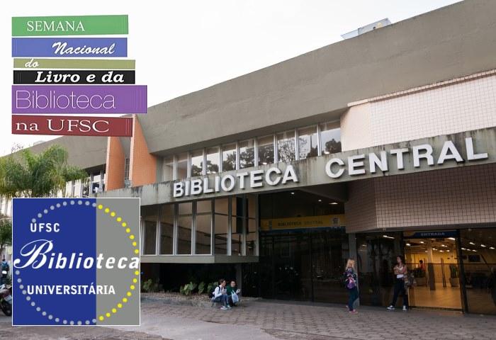 Semana Nacional do Livro e da Biblioteca com programação especial na UFSC