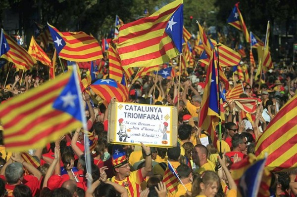 Catalunha inicia processo de independência da Espanha