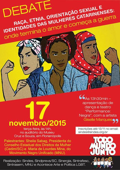 Debate Raça, Etnia, Orientação Sexual e Identidades das Mulheres Catarinenses