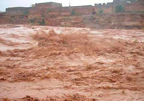 Chuvas torrenciais provocam tragédia na República Saarauí
