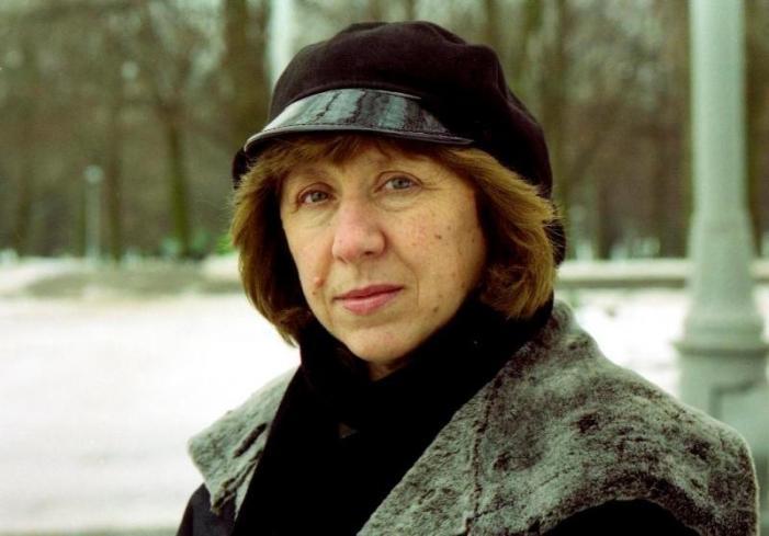 Svetlana Aleksievitch, um nobel político