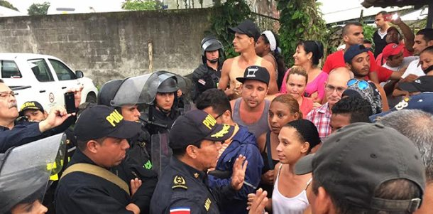 Sobre os cubanos na fronteira com a Costa Rica