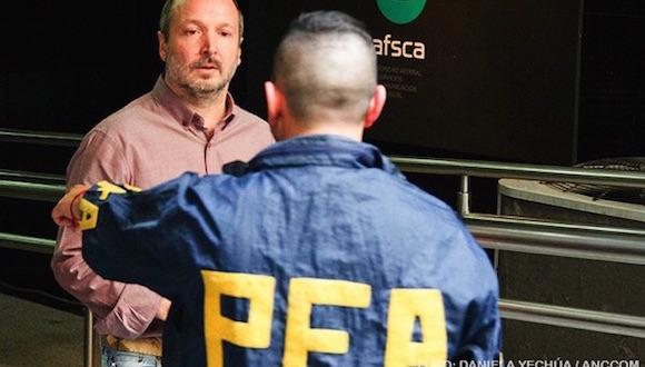 Invasão da Autoridade Federal de Serviçõs de Comunicação Audiovisual (AFSCA)