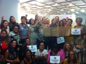 Congregação das Mulheres do BR apoia Campanha Derruba Veto