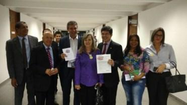 Senadores Randolph Rodrigues, Lindberg Farias foto Piata Muller