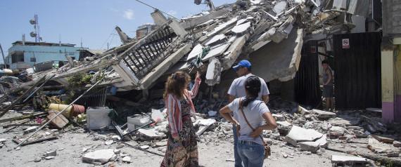 Equador: Terremoto mais forte do país em 37 anos deixa centenas de mortos