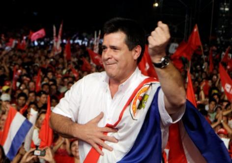 Divulgação. Horácio Cartes, presidente do Paraguai