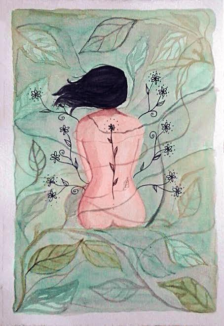 Aquarela sobre papel - Gabriela Goulart