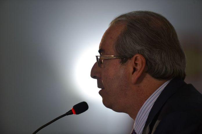Cunha falou em entrevista coletiva por duas horas nesta terça