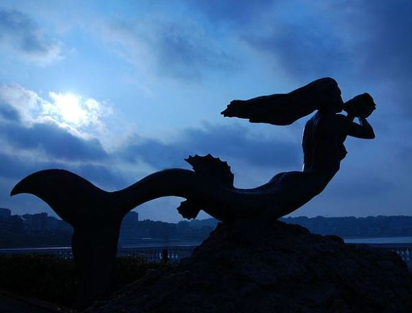 Sereia, Palácio Real da Madalena, Santander. Foto: Wikimedia