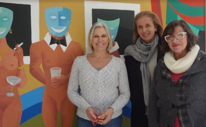 Vania Rossi, Denise Becker e Leilah Correa Vieira. Foto: NProduções
