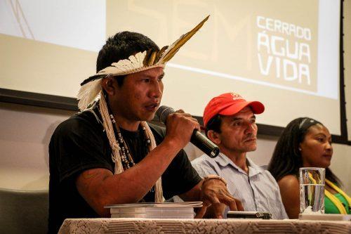 Elson Canteiro Guarani Kaiowa falou sobre a realidade enfrentada pelos Guarani e Kaiowá no Mato Grosso do Sul.