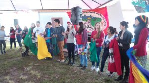 Jovens camponeses do RS se reúnem em acampamento