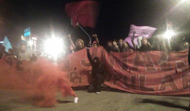 Ato contra a PEC 241 e a reforma do ensino médio, Florianópolis. Foto: Priscilla Britto