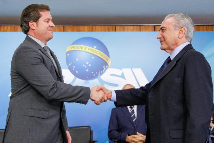 Marx Beltrão (PMDB-AL) toma posse como ministro. Foto: Beto Barata/PR